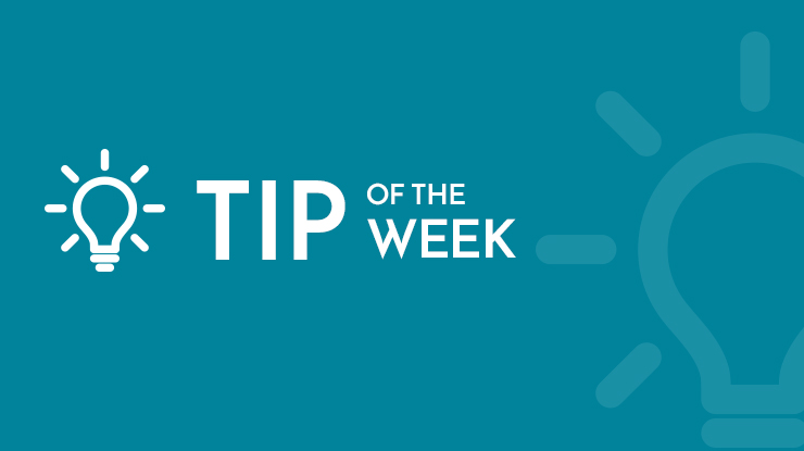 Tip of the Week: Everything New 2019